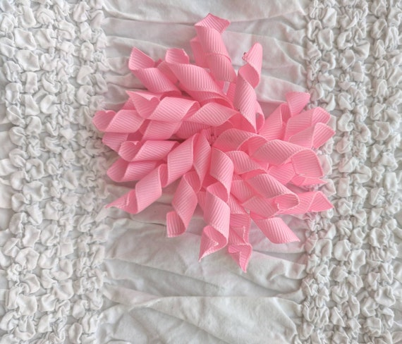 Pink 4 inch Korker Hair Bow