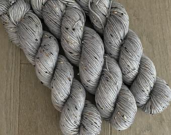 Silver Tweed Yarn