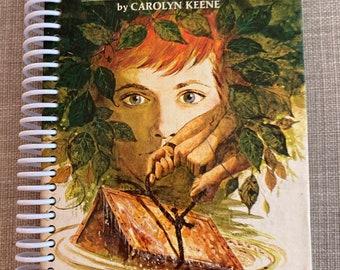 "NANCY DREW - ""The Secret of Mirror Bay""  , Recycled Vintage Book into Journal/Sketchbook"