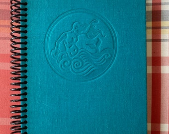 """1951 """"The Cruel Sea"""", Recycled Vintage Book into Journal/Sketchbook"""