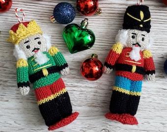 Christmas Nutcracker Doll knitting pattern