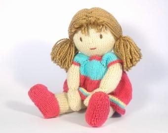 Summer Josie Doll Knitting Pattern