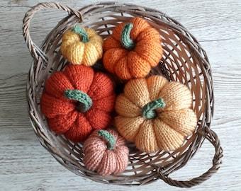 Easy Knitted Pumpkin Pattern