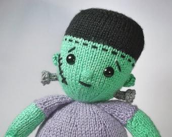 Little Frankenstein Knitting Pattern