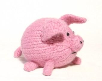 Little Piggy Knitting Pattern