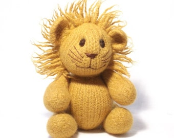 Lion Knitting Pattern
