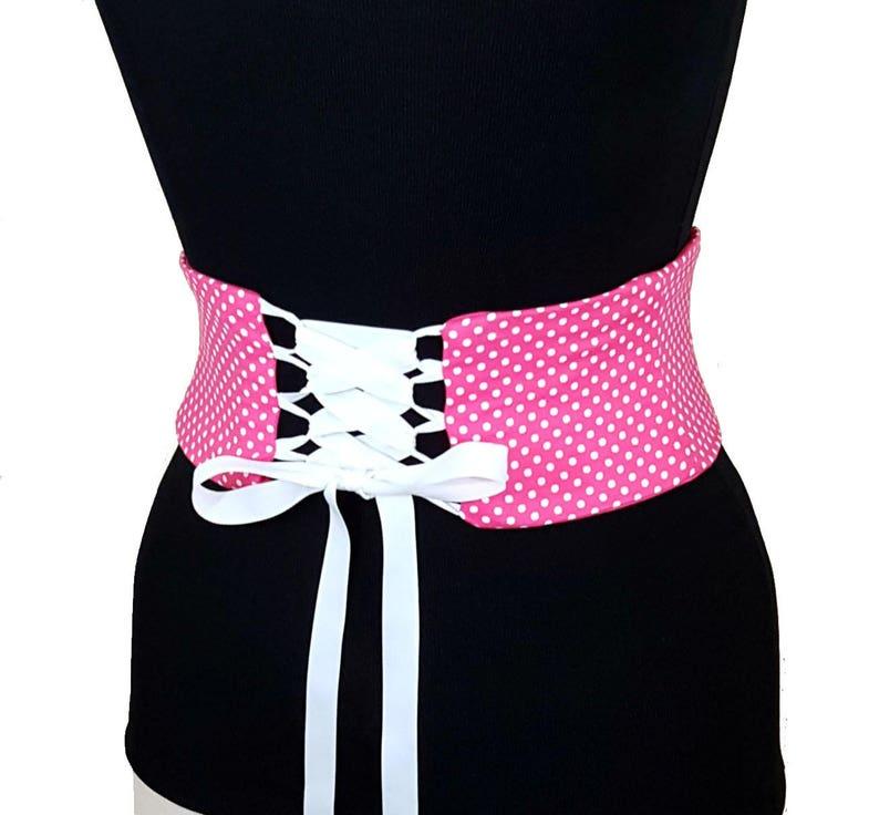 5c8c9ad4b6c Ceinture Obi-Corset Polka Dot   serre-taille   Hot ceinture