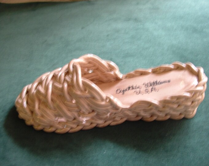 Braided Clay Wedge