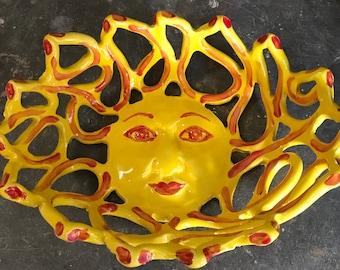 Sunshine Bowl fruit bowl bread warmer baker whimsical home decor