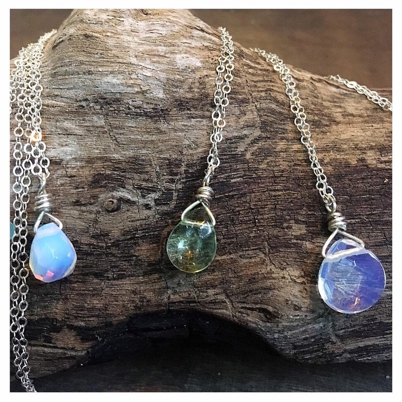Simply Gems Necklaces by Mermaid Tears 1 single perfect image 0