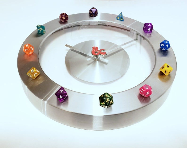 Dungeons and Dragons Dice Clock image 0