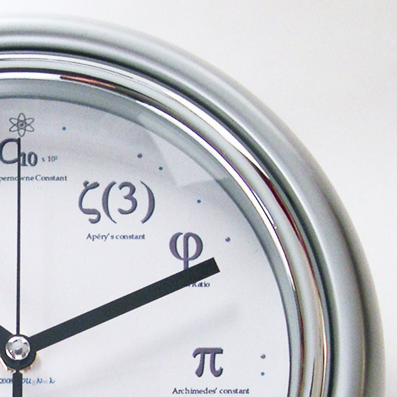 Geek Clock  I'll meet you at PI for Pie image 0