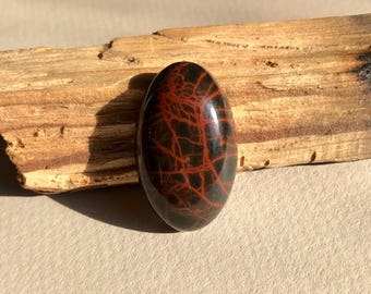 spiderman jasper cabochon