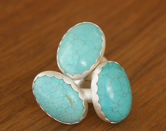 Turquoise Chunky Ring