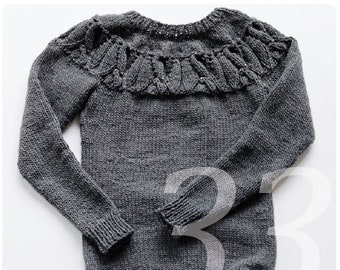 Strickanleitung Norweger Pullover Jacquard Muster In Grösse S Etsy
