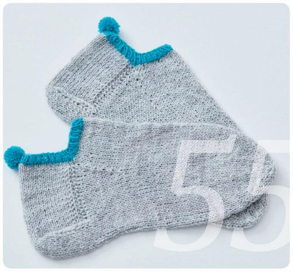Strickanleitung Für Kurze Sport Socken Füsslinge Etsy