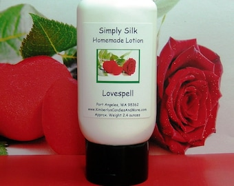 Love Spell (Type) Simply Silk Lotion