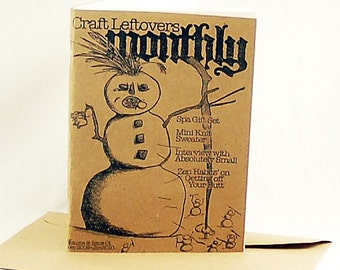 Winter Craft Leftovers Monthly - Volume 2 - Issue 1
