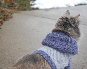Cat Hoodie Knit Pattern: Making Me Purr