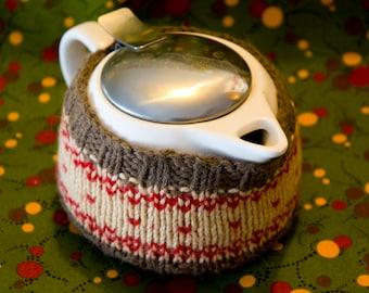 Knit Tea Cozy Pattern: PDF Printable