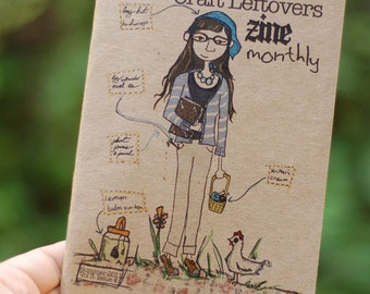 Issue 4 - Volume 3 - Craft Leftovers Monthly Zine