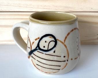 tennis mug with a little boho flair