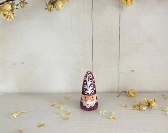 NŌM 2018 gnome miniature clay figurine
