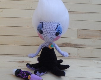 Ursula PDF Crochet Pattern from The Little Mermaid | Little ... | 270x340