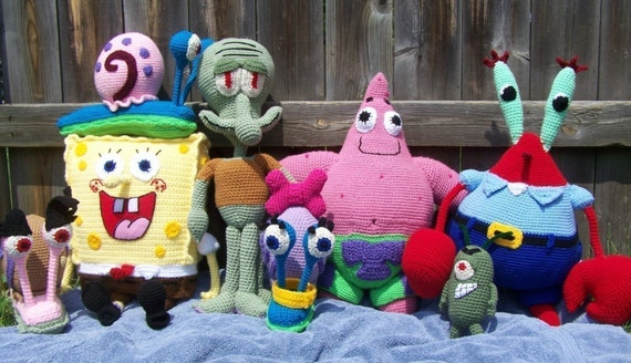 Ravelry: Holy Spongebob pattern by Sabrina Boscolo   328x570