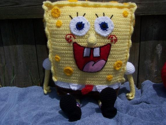 Amigurumi Sponge Bob Free Crochet Pattern - Amigurumi Free Patterns   428x570