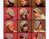 Five Fair Isle Tam Hats PDF Vintage Knitting Pattern