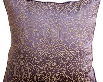 Glänzend Kissenbezug Gold Damast Samt Zurück Kissen Abdeckung Fall 1 Stück