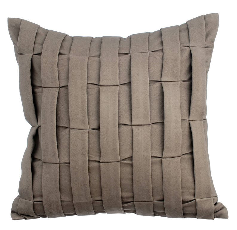 Smoke Grey Couch Sofa Cushion Covers 16 X 16 Pillow Covers Etsy