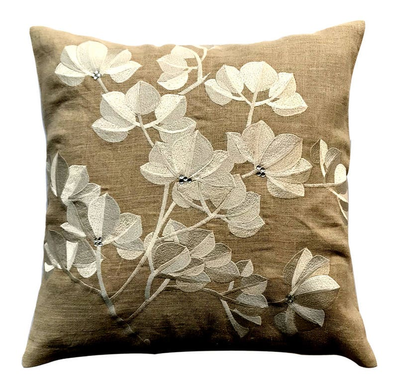 Modern Decorative Throw Pillow Covers 16 X 16 Etsy