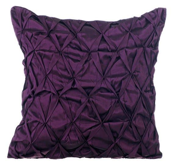 Plum Decorative Throw Pillow Cover Sofa Pillow Cases 18x18