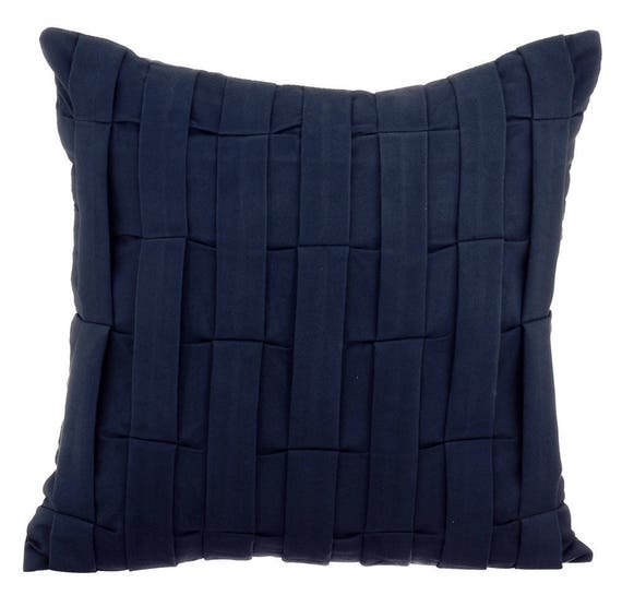 Miraculous 20X20 Throw Pillow Blue Couch Sofa Cushion Covers 20 X 20 Pillow Covers Navy Blue Suede Textured Decorative Pillows Navy Blue Love Tune Ncnpc Chair Design For Home Ncnpcorg