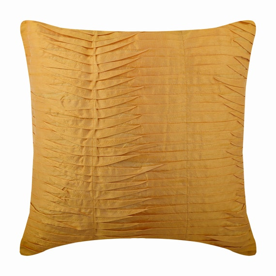 Yellow Pillow Cover Decorative Throw