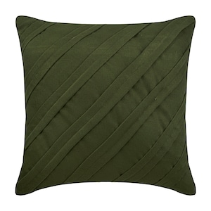 Light Gray Sofa Pillow Faux Suede