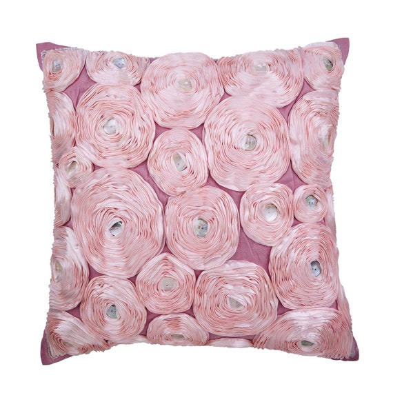 Pink Pillow Cover Pink Throw Pillow