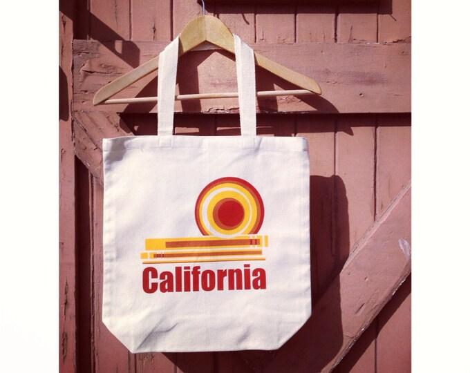 Organic Cotton Canvas California Dream Tote - Reusable Shopping Bag