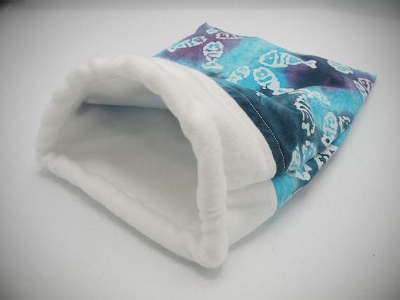Batik Fish Little Critter Plush Snuggle Sleep Sack Bed for Your Favorite Little Pet