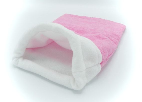 Pink Little Critter Plush Snuggle Sleep Sack Bed for Your Favorite Little Pet