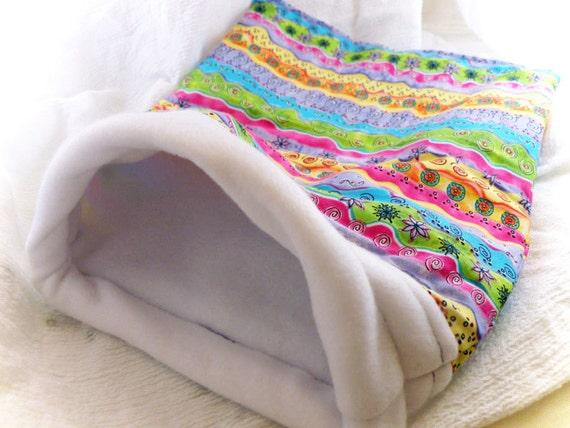 Garden Whimsy Little Critter Plush Snuggle Sleep Sack Bed for Your Favorite Little Pet