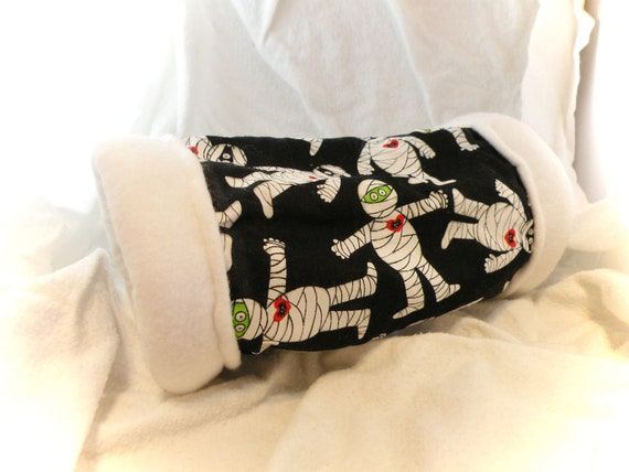 Mummy 4 Inch Cozy Tunnel for Your Favorite Little Hedgehog, Guinea Pig, Small Pet