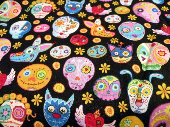 Animal Sugar Skulls Small Pet Sacks, Tents, and Tunnels, Design your Own!