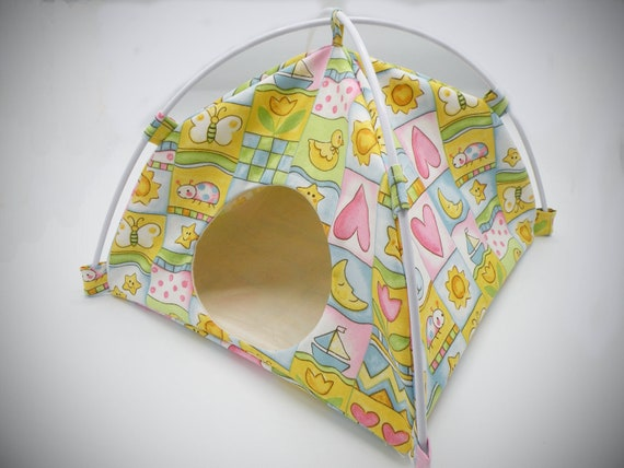 Baby Blocks Large Tent Sleep Sack Bed for Hedgehogs Rats Guinea Pigs Ferrets