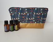 Essential Oil Pouch, Oily Pouch, Essential Oil Storage - Arrows