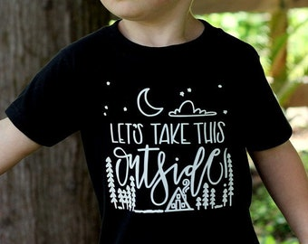 Adventure Seeker Baby Camp Woodland Unisex Baby Tee Shirt Explore Outdoorsy Boy Kids Fashion Unisex Tee Shirt 6MO 12MO 18MO 24MO