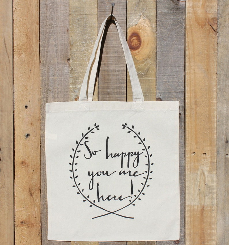 Welcome To Our Wedding Gift Tote Bag For Out Of Town Guests Etsy