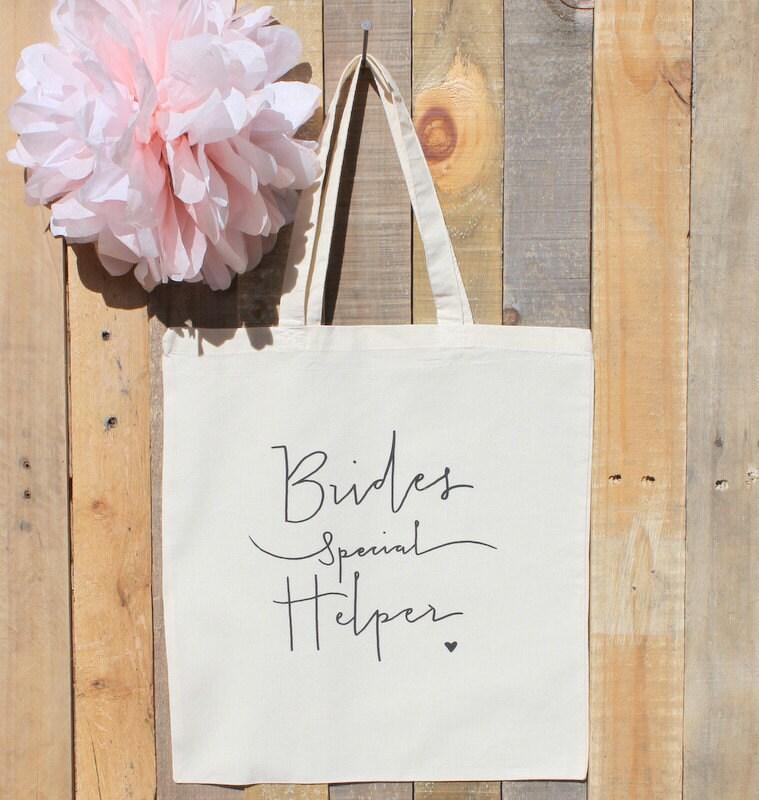 Gift Ideas For Wedding Helpers: Wedding Coordinator Bride Helper Gift Tote Bag